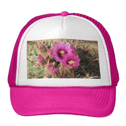 Blooming Devil's Tongue Barrel Cactus Hat