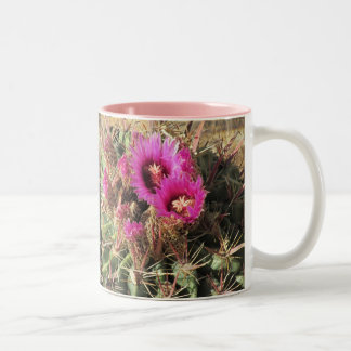 Blooming Devil's Tongue Barrel Cactus Mug