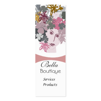 Blooming Goddess Business Card Template
