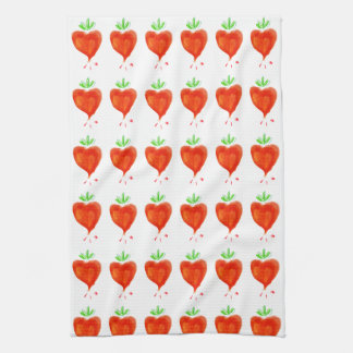 Blooming Hearts Hand Towels