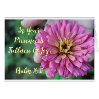 Blooming Joy - Notecard