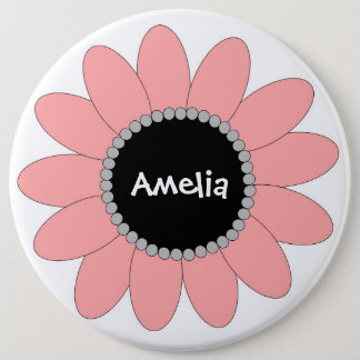 Blooming Jumbo Party Button - Customize