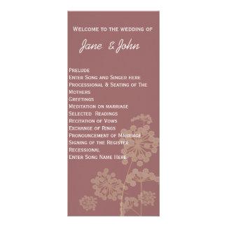 Blooming Meadow Flowers Rack Cards