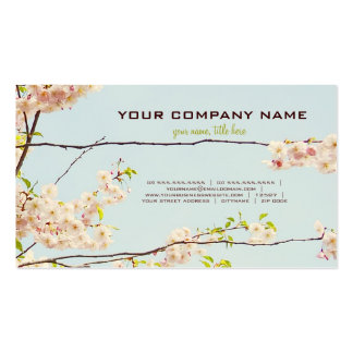Blooming Nature Double-Sided Standard Business Cards (Pack Of 100)