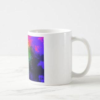 Blooming nebula basic white mug