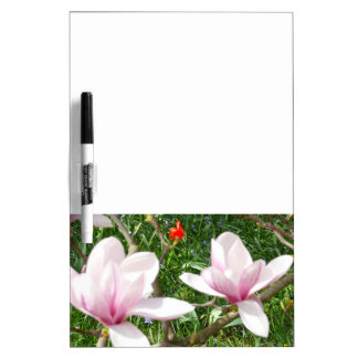 Blooming Pink Magnolia 01.3 Dry Erase Whiteboards