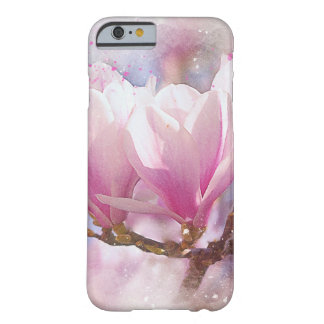 Blooming Pink Purple Magnolia - Spring Flower Barely There iPhone 6 Case