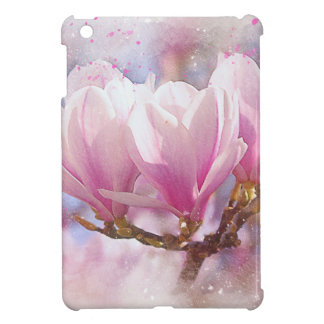 Blooming Pink Purple Magnolia - Spring Flower Case For The iPad Mini