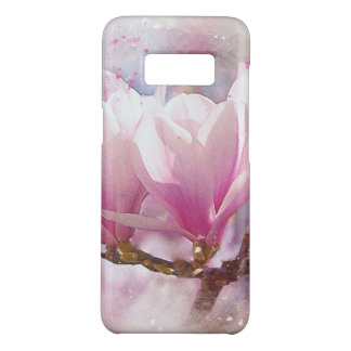Blooming Pink Purple Magnolia - Spring Flower Case-Mate Samsung Galaxy S8 Case