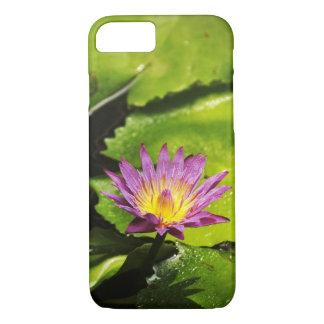 Blooming Purple Water Lily Flower iPhone 7 Case