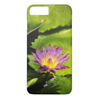 Blooming Purple Water Lily Flower iPhone 7 Plus Case