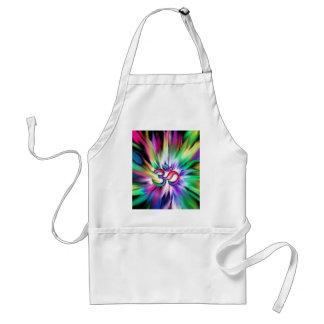 Blooming Rainbow Lotus OM Standard Apron