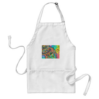 Blooming Ribbons Standard Apron