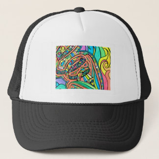 Blooming Ribbons Trucker Hat
