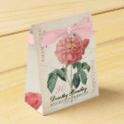 Blooming Rose 90th Birthday Thank You Favour Box