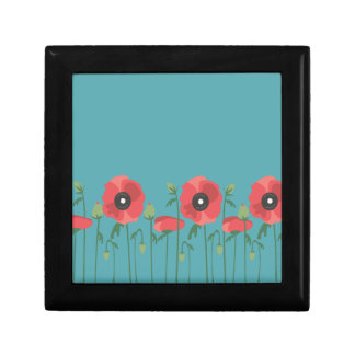 Blooming Springtime Poppies Gift Box