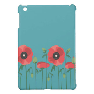 Blooming Springtime Poppies iPad Mini Cover