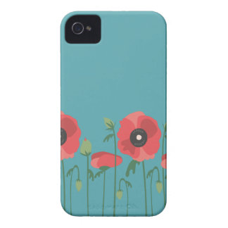 Blooming Springtime Poppies iPhone 4 Case-Mate Case