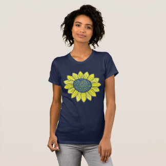 Blooming Sunflower T-Shirt
