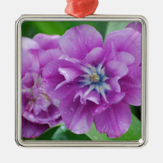 Blooming Tulips Christmas Tree Ornament