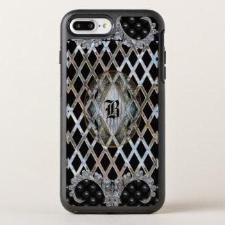 Bloomington modern pattern Protective Monogram OtterBox Symmetry iPhone 8 Plus/7 Plus Case