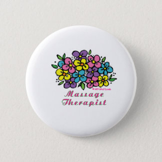 Blooms M Therapist 6 Cm Round Badge