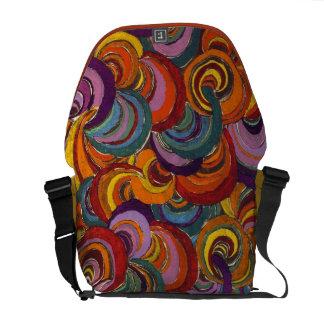 Bloomsbury Swirl Messenger Bags