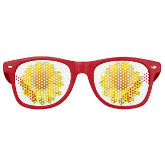 Bloomy Yellow Flower - Sunglasses Party Shades