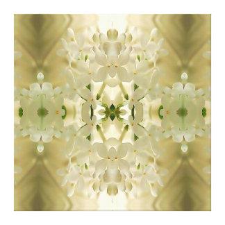 """Blossom Bouquet"" Mandala Gallery Wrap Canvas"