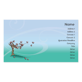 Blossom - Business Pack Of Standard Business Cards