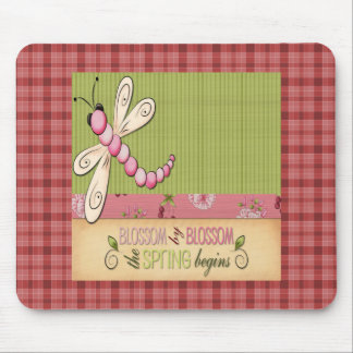 Blossom by Blossom Spring begins Mousepad