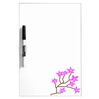 Blossom Dreams Dry Erase Board