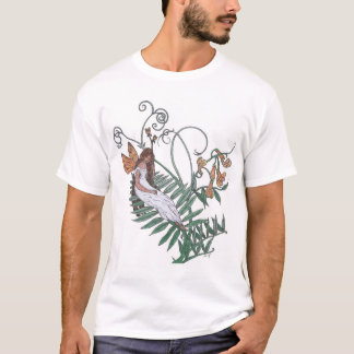 Blossom Fairy, hand drawn T-Shirt