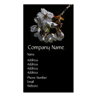 Blossom Flowers Business Card Templates