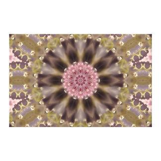 Blossom Glow Mandala II Gallery Wrap Canvas