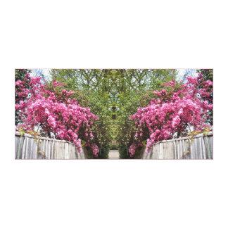 Blossom Path Canvas Print
