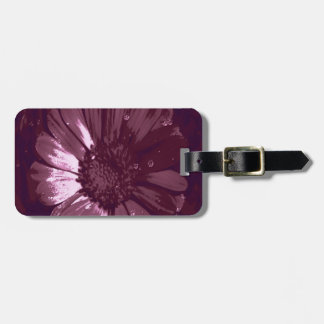 Blossom red tags for luggage