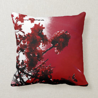 Blossom (Red) Pillow