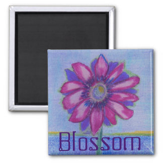 Blossom Square Magnet