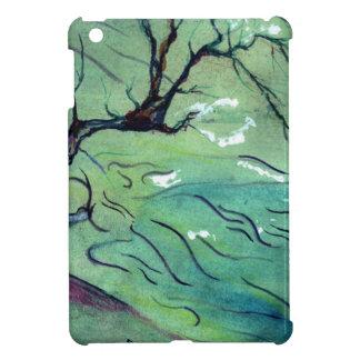 Blossom Tree & the river iPad Mini Cover