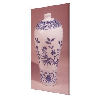 Blossom vase, Ming dynasty Canvas Prints