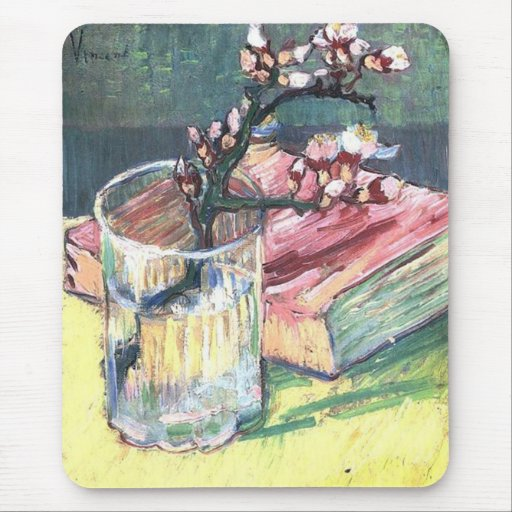 Blossoming Almond Branch...by Vincent van Gogh Mousepad