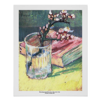 Blossoming Almond Branch by Vincent van Gogh Poster