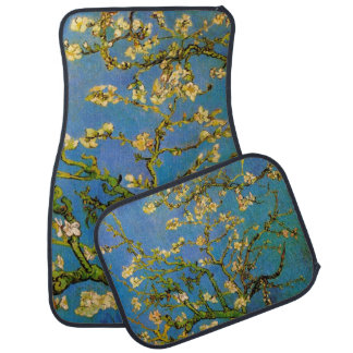 Blossoming Almond Tree by Van Gogh, Fine Art Car Mat