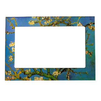 Blossoming Almond Tree by Van Gogh, Fine Art Magnetic Frame
