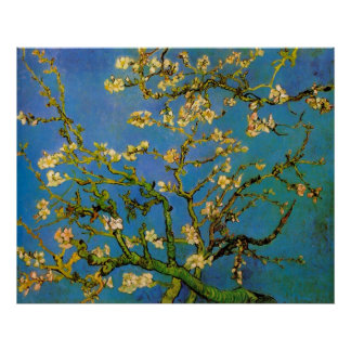 Blossoming Almond Tree by Van Gogh, Fine Art Poster