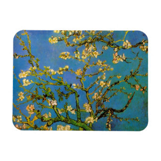Blossoming Almond Tree by Van Gogh, Fine Art Rectangular Photo Magnet