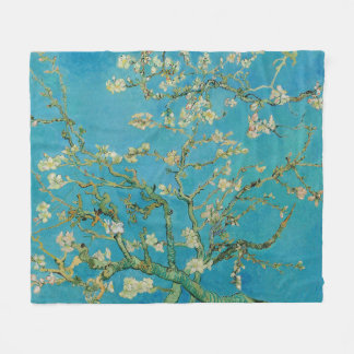 Blossoming Almond Tree by Van Gogh Fleece Blanket