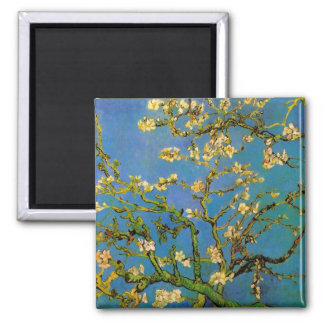 Blossoming Almond Tree by Vincent van Gogh Magnet
