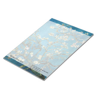 Blossoming Almond Tree by Vincent van Gogh Notepads
